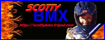Welcome to Scottys BMX